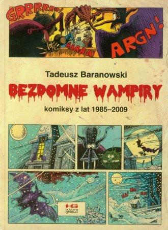 Bezdomne wampiry. Komiksy z lat - okładka książki