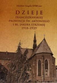 Dzieje Franciszkańskiej prowincji św. Antoniego i bł. Jakuba Strzemię 1918-1939 - okładka książki