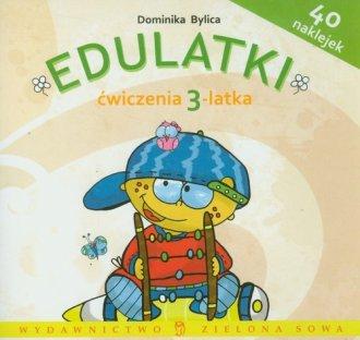 Edulatki. Ćwiczenia 3-latka - okładka podręcznika