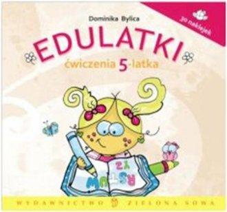 Edulatki. Ćwiczenia 5-latka - okładka podręcznika
