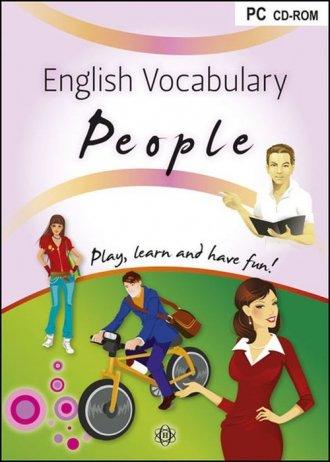 English Vocabulary People - pudełko programu