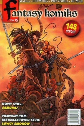 Fantasy komiks. Tom 15 - okładka książki