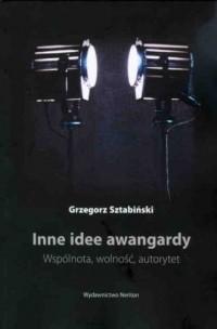 Inne idee awangardy - okładka książki