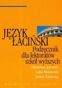 Język łaciński. Podręcznik dla lektoratów szkół wyższych - okładka książki