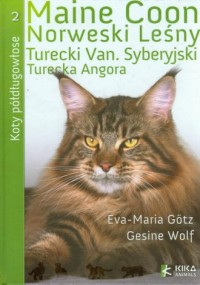 Koty półdługowłose - okładka książki