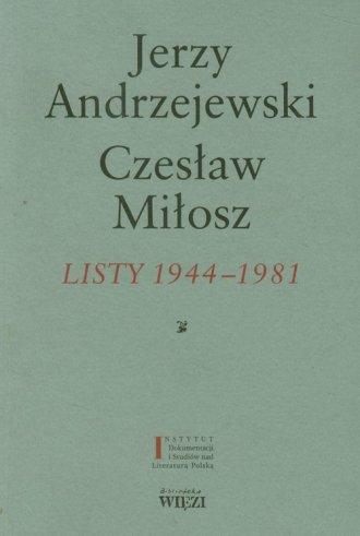 Listy 1944-1981 - okładka książki