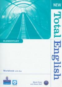 New Total English. Elementary. Workbook (+ CD) - okładka podręcznika