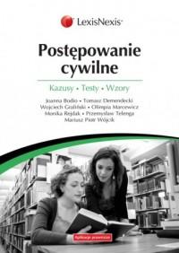 Postępowanie cywilne - okładka książki