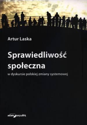Sprawiedliwość społeczna w dyskursie - okładka książki