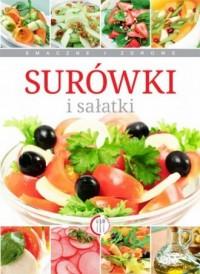 Surówki i sałatki - okładka książki
