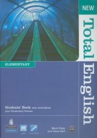 Total English New Elementary Student s Book (+ CD) - okładka podręcznika