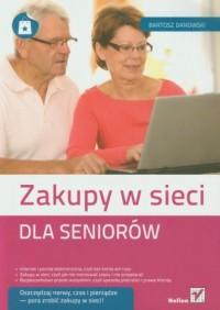 Zakupy w sieci dla seniorów - okładka książki