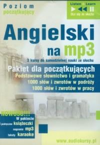 Angielski na mp3. Dla początkujących (CD mp3) PAKIET - pudełko audiobooku
