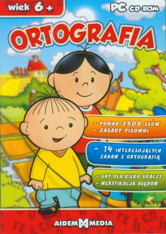 Bolek i Lolek. Ortografia - pudełko programu