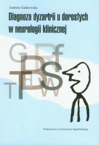 Diagnoza dyzartrii u dorosłych - okładka książki