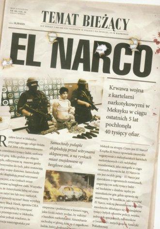 El Narco - okładka książki