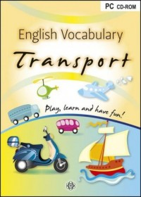 English Vocabulary Transport - Wydawnictwo - pudełko programu
