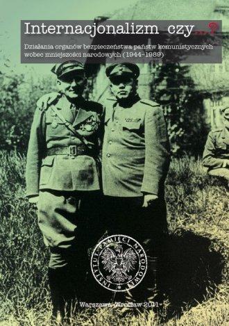 Internacjonalizm czy...? Działania - okładka książki