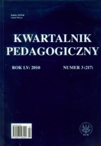 Kwartalnik Pedagogiczny. Rocznik LV nr 3 (217) / 2010 - okładka książki