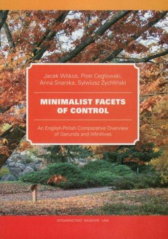 Minimalist Facets of Control. An - okładka podręcznika