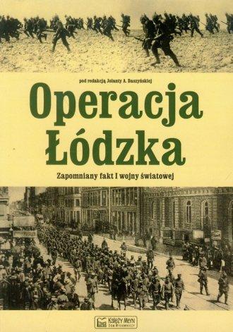 Operacja Łódzka Zapomniany fakt - okładka książki