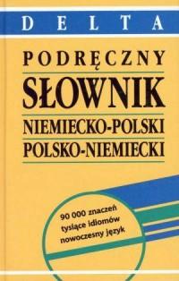Podręczny słownik niemiecko-polski, polsko-niemiecki - okładka książki