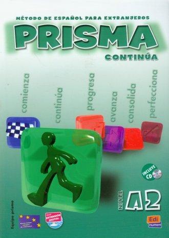 Prisma continua A2. Podręcznik - okładka podręcznika