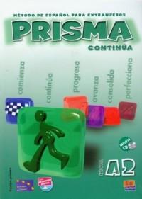 Prisma continua A2. Podręcznik (+ CD) - okładka podręcznika