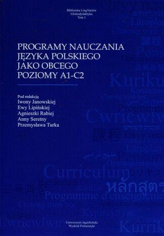 Programy nauczania jezyka polskiego - okładka podręcznika