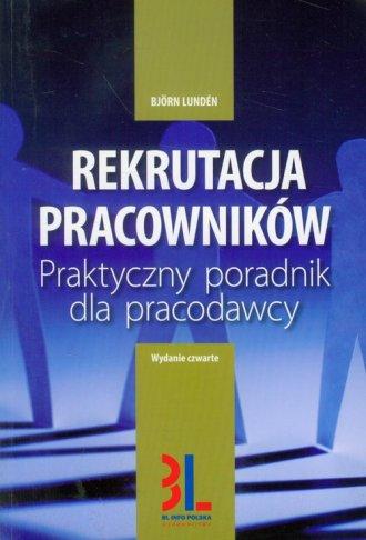Rekrutacja pracowników - okładka książki