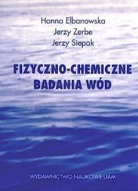 Fizyczno-chemiczne badania wód - okładka książki