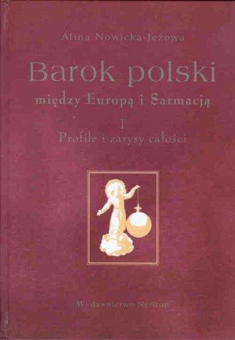 Barok polski między Europą i Sarmacją. - okładka książki