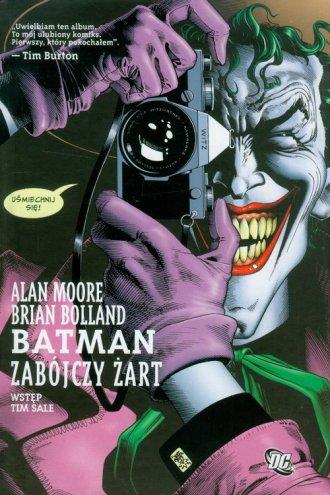 Batman. Zabójczy żart - okładka książki