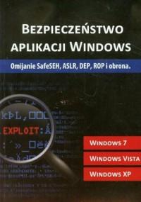 Bezpieczeństwo aplikacji Windows - okładka książki