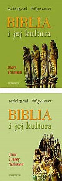 Biblia i jej kultura. Stary Testament. Tom 1. Jezus i Nowy Testament. Tom 2. KOMPLET - okładka książki