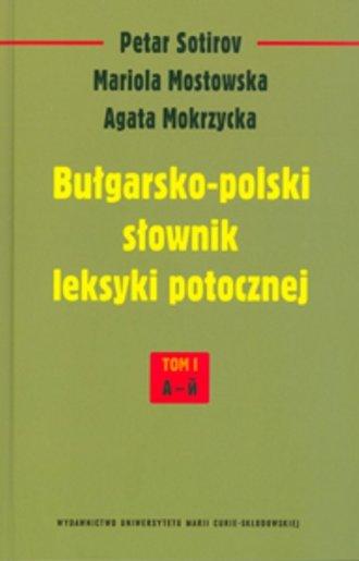 Bułgarsko-polski słownik leksyki - okładka książki