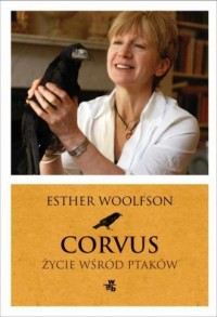Corvus Życie wśród ptaków - okładka książki