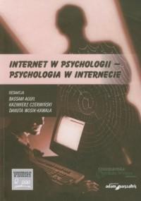 Internet w psychologii - psychologia - okładka książki