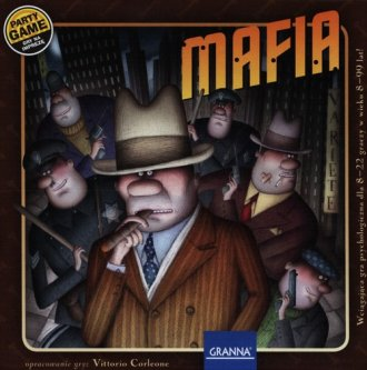 Mafia (gra planszowa) - zdjęcie zabawki, gry