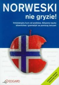 Norweski nie gryzie. Innowacyjny kurs od podstaw. Aktywna nauka słownictwa i gramatyki za pomocą ćwiczeń - okładka podręcznika