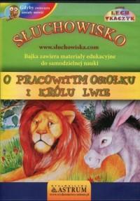 O pracowitym osiołku i królu lwie - pudełko audiobooku
