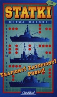 Statki. Bitwa morska (gra planszowa) - zdjęcie zabawki, gry