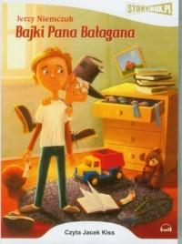 Bajki Pana Bałagana - Jerzy Niemczuk - pudełko audiobooku