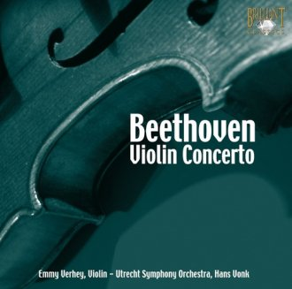 Beethoven: Violin Concerto (CD) - okładka płyty