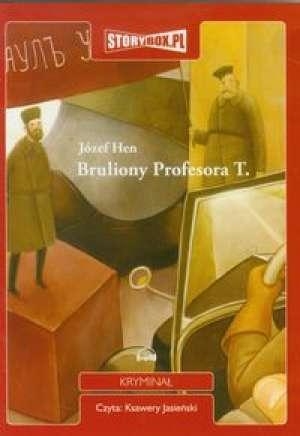 Bruliony Profesora T. - pudełko audiobooku