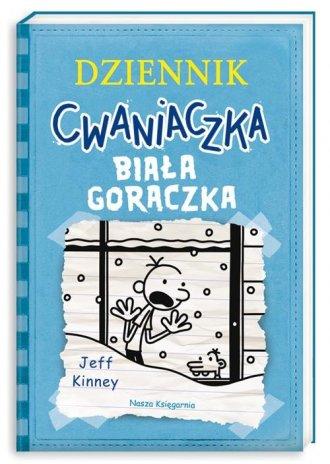 Dziennik cwaniaczka. Biała gorączka - okładka książki