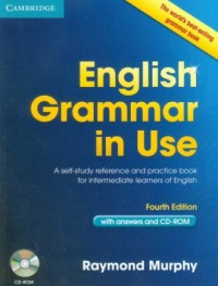 English Grammar in Use (+ CD) - okładka podręcznika