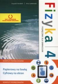 Fizyka 4. Gimnazjum. Podręcznik + multipodręcznik - okładka podręcznika