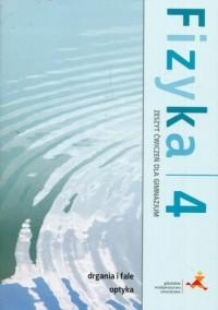Fizyka 4. Gimnazjum. Zeszyt ćwiczeń - okładka podręcznika
