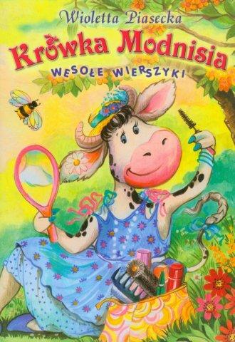 Krówka Modnisia - okładka książki